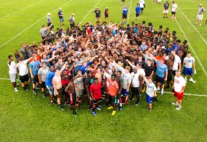 Jeremiah Castille Football Camp - Wallace